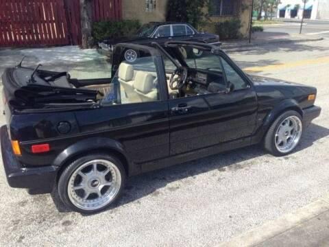 1993 Volkswagen Rabbit for sale at Classic Car Deals in Cadillac MI