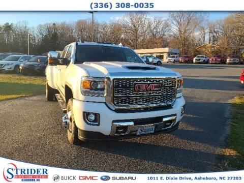 2019 GMC Sierra 3500HD for sale at STRIDER BUICK GMC SUBARU in Asheboro NC