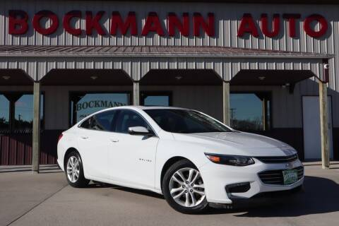 2018 Chevrolet Malibu for sale at Bockmann Auto Sales in St. Paul NE