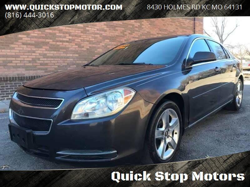 2010 Chevrolet Malibu for sale at Quick Stop Motors in Kansas City MO