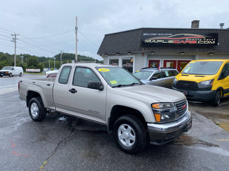 2005 GMC Canyon for sale at Maple Street Auto Center in Marlborough MA