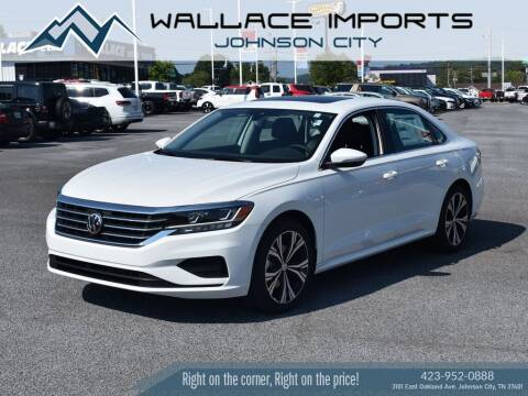 2021 Volkswagen Passat for sale at WALLACE IMPORTS OF JOHNSON CITY in Johnson City TN