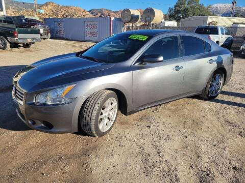 2014 Nissan Maxima for sale at Canyon View Auto Sales in Cedar City UT