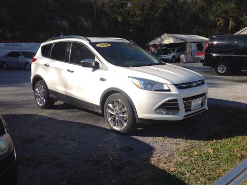 2016 Ford Escape for sale at GIB'S AUTO SALES in Tahlequah OK