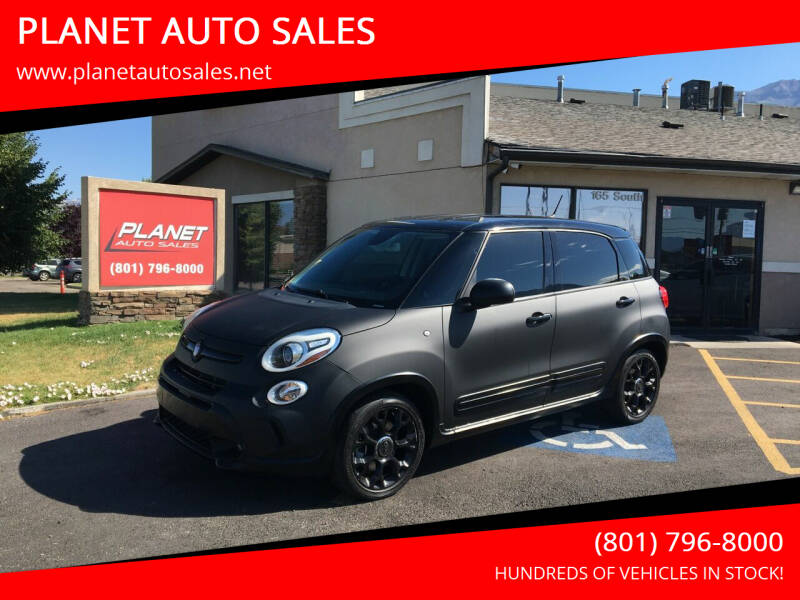2015 FIAT 500L for sale at PLANET AUTO SALES in Lindon UT