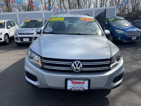 2016 Volkswagen Tiguan for sale at Elmora Auto Sales in Elizabeth NJ