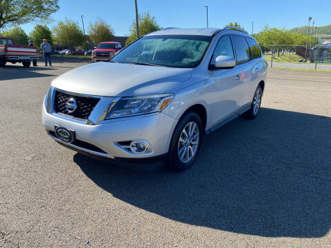 2015 Nissan Pathfinder for sale at Steve Johnson Auto World in West Jefferson NC