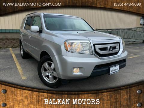 2011 Honda Pilot for sale at BALKAN MOTORS in East Rochester NY