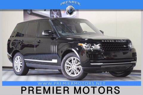 2017 Land Rover Range Rover for sale at Premier Motors in Hayward CA