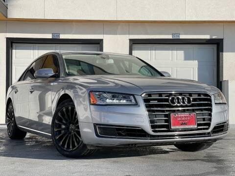 2015 Audi A8 L for sale at Avanesyan Motors in Orem UT