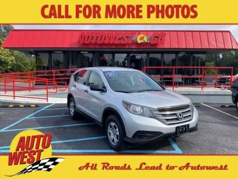 2014 Honda CR-V for sale at Autowest of GR in Grand Rapids MI