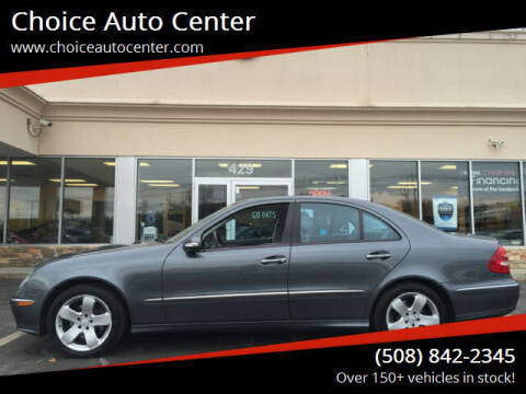 2006 Mercedes-Benz E-Class for sale at Choice Auto Center in Shrewsbury MA