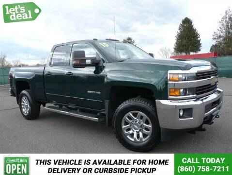 2015 Chevrolet Silverado 2500HD for sale at Shamrock Motors in East Windsor CT
