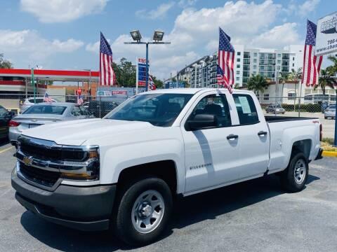 2017 Chevrolet Silverado 1500 for sale at CHASE MOTOR in Miami FL