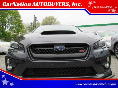 2016 Subaru WRX for sale at CarNation AUTOBUYERS, Inc. in Rockville Centre NY