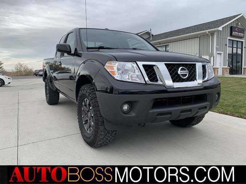 2015 Nissan Frontier for sale at Auto Boss in Woodscross UT