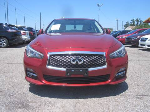 2014 Infiniti Q50 for sale at T & D Motor Company in Bethany OK