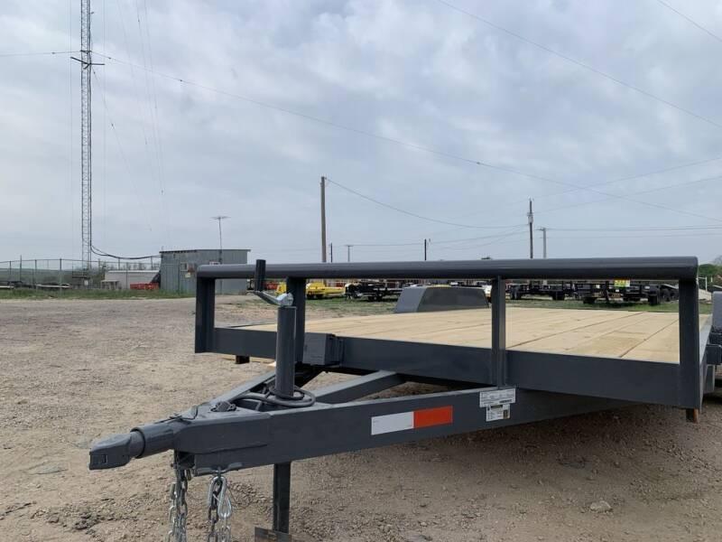 """2021 P & C  - CAR HAULER 83"""" X 18' - for sale at LJD Sales in Lampasas TX"""