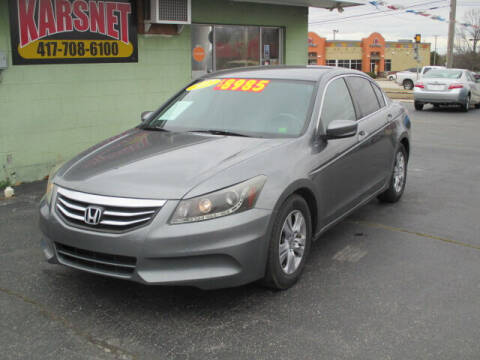 2012 Honda Accord for sale at Karsnet in Joplin MO