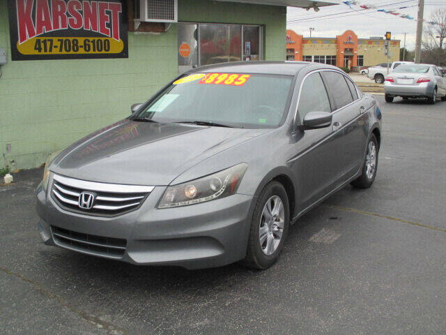 2012 Honda Accord for sale at Karsnet in Joplin MO