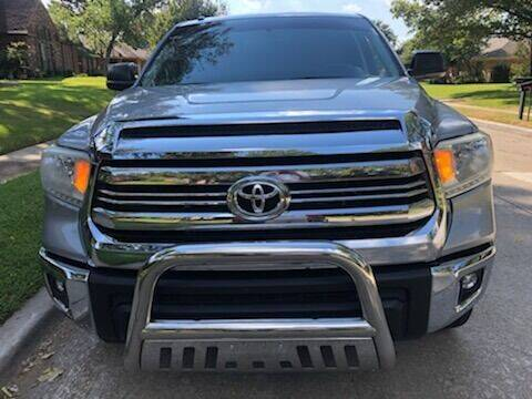 2016 Toyota Tundra for sale at Vemp Auto in Garland TX