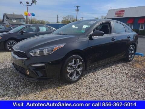 2021 Kia Forte for sale at Autotec Auto Sales in Vineland NJ