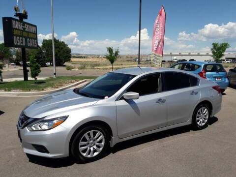 2018 Nissan Altima for sale at More-Skinny Used Cars in Pueblo CO