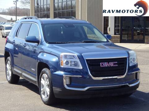 2017 GMC Terrain for sale at RAVMOTORS 2 in Crystal MN
