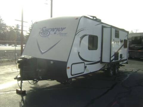 2015 Forest River Surveyor 240RBS / 27ft for sale at Jim Clarks Consignment Country - Travel Trailers in Grants Pass OR