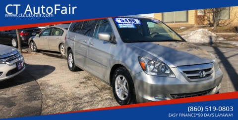 2007 Honda Odyssey for sale at CT AutoFair in West Hartford CT