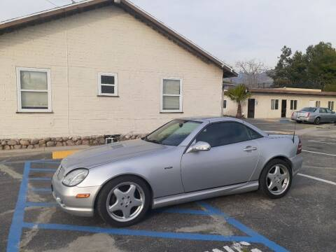 2001 Mercedes-Benz SLK for sale at RN AUTO GROUP in San Bernardino CA
