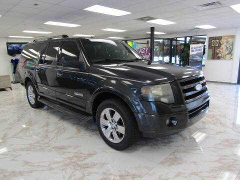 2007 Ford Expedition EL for sale at Dealer One Auto Credit in Oklahoma City OK