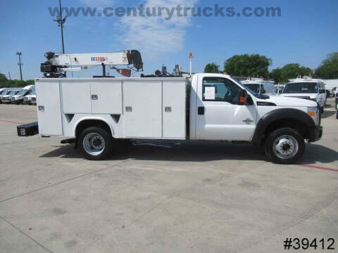 2012 Ford F-550 Super Duty for sale at CENTURY TRUCKS & VANS in Grand Prairie TX