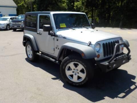 2008 Jeep Wrangler for sale at RTE 123 Village Auto Sales Inc. in Attleboro MA