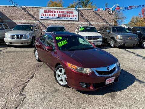 2009 Acura TSX for sale at Brothers Auto Group in Youngstown OH