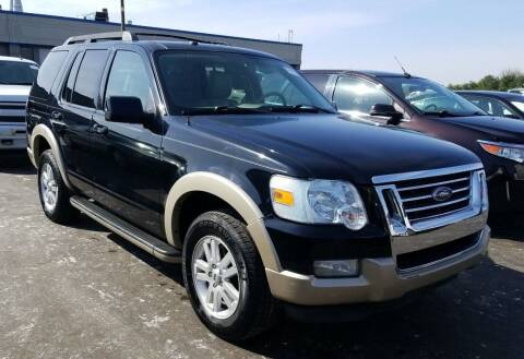 2010 Ford Explorer for sale at Angelo's Auto Sales in Lowellville OH