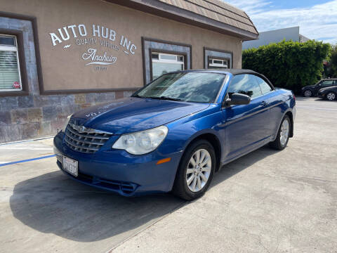 2010 Chrysler Sebring for sale at Auto Hub, Inc. in Anaheim CA