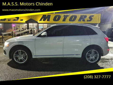 2013 Audi Q5 for sale at M.A.S.S. Motors Chinden in Garden City ID