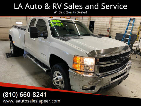 2011 Chevrolet Silverado 3500HD for sale at LA Auto & RV Sales and Service in Lapeer MI