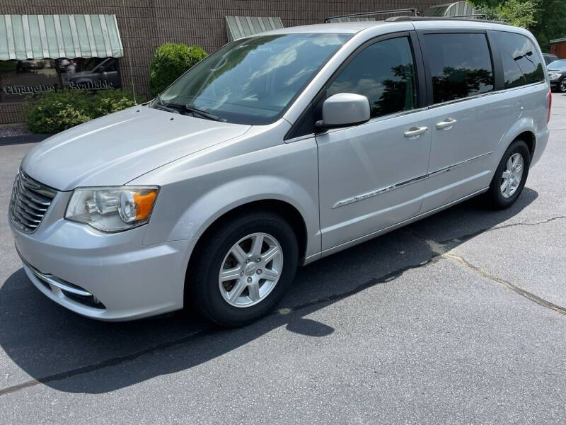 2012 Chrysler Town and Country for sale at Depot Auto Sales Inc in Palmer MA