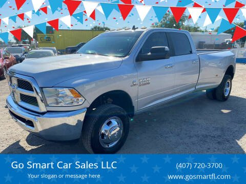 2017 RAM Ram Pickup 3500 for sale at Go Smart Car Sales LLC in Winter Garden FL