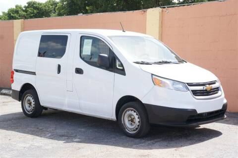 2016 Chevrolet City Express Cargo for sale at Concept Auto Inc in Miami FL