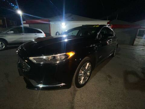2018 Ford Fusion Energi for sale at PELHAM USED CARS & AUTOMOTIVE CENTER in Bronx NY