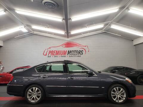 2009 Infiniti M35 for sale at Premium Motors in Villa Park IL