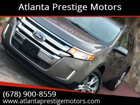 2012 Ford Edge for sale at Atlanta Prestige Motors in Decatur GA