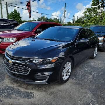 2017 Chevrolet Malibu for sale at America Auto Wholesale Inc in Miami FL