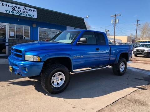 2001 Dodge Ram Pickup 1500 for sale at Island Auto Sales in Colorado Springs CO