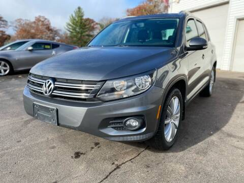 2013 Volkswagen Tiguan for sale at SOUTH SHORE AUTO GALLERY, INC. in Abington MA