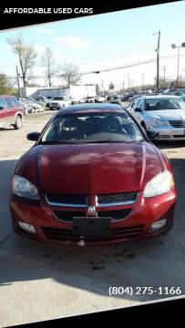 2004 Dodge Stratus for sale at AFFORDABLE USED CARS in Richmond VA