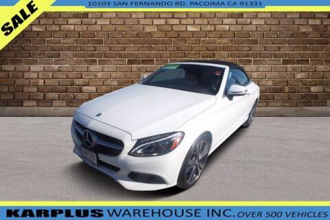 2017 Mercedes-Benz C-Class for sale at Karplus Warehouse in Pacoima CA